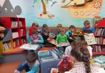 Увлекательные занятия в библиотеке № 25