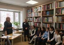 Творческая встреча  с сургутской поэтессой Бивол А.Б.