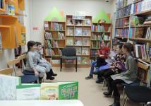Читальный зал библиотеки № 4