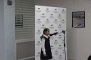 Победитель конкурса Алина Безоян читает отрывок из поэмы Руслан и Людмила