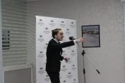 Победитель конкурса Никита Адодин читает стихотворение Пушкина Бесы