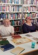 Декламация стихотворений в библиотеке на улице Бажова