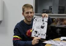 Никита Терсенев. Создатель комиксов вселенной SKY