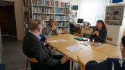 Встреча с журналистом Галиной Батищевой