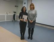 Победитель в категории 16-18 лет Г. Ахметшина, зам. директора ЦБС по информационным технологиям А.Г. Дарутина
