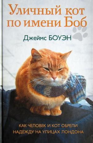 Обложка Уличный кот по имени Боб