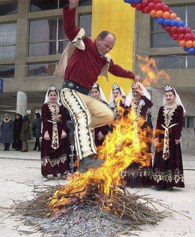 13 февраля народный праздник благословления молодоженов трндез